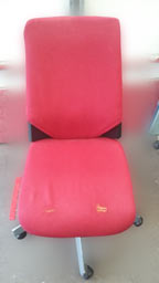 office chair reupholstery - before