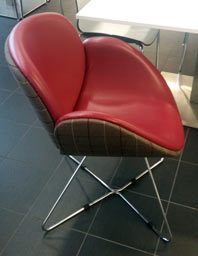 soft seating reupholstered - after