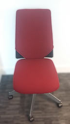 office chair reupholstery - after